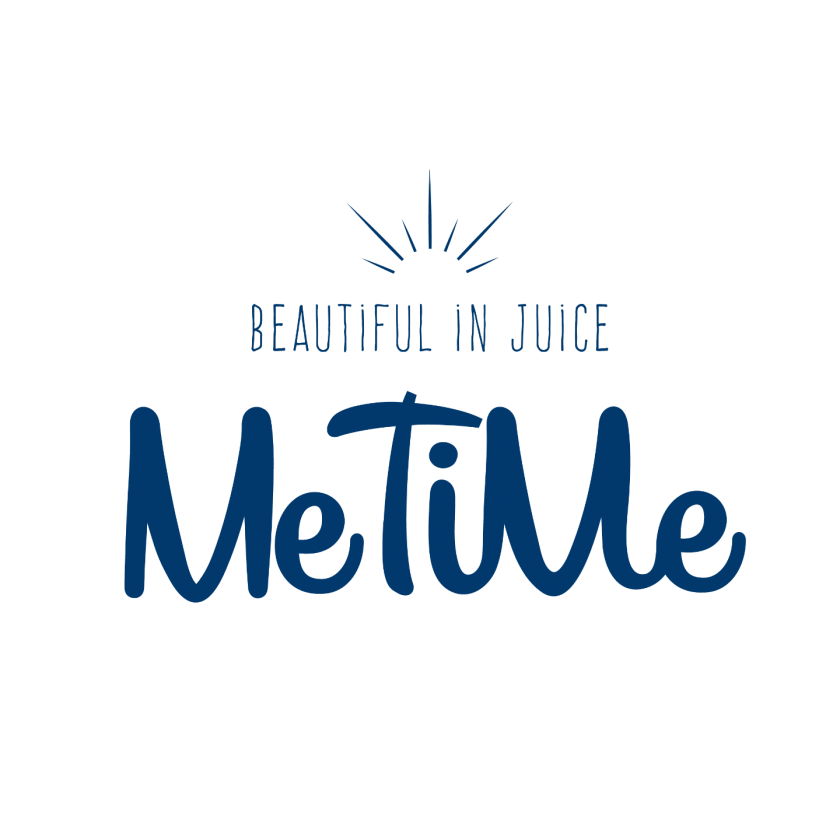 Me Time Logo Blue